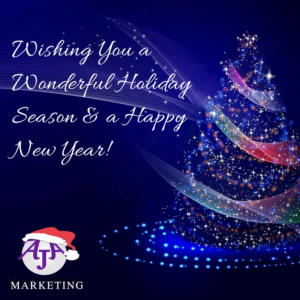 Happy holidays from AJA Marketing