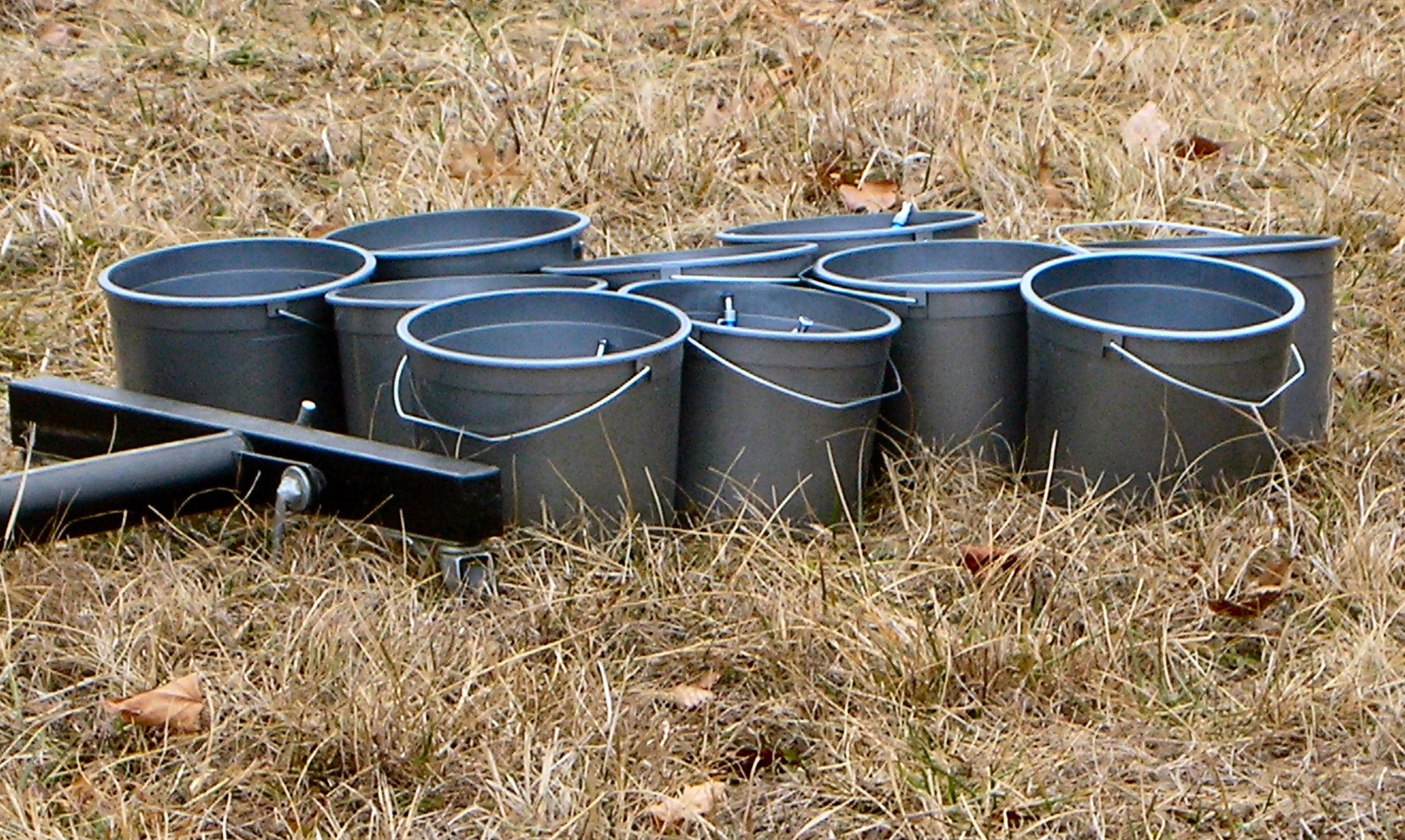 Photo of buckets